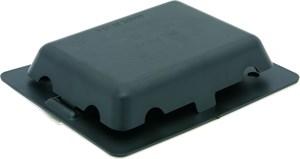 Ventil passiv svart 10x13cm