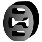 Reservdel:Fiat Uno Gummiupphängning, avgassystem
