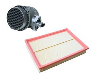 Kit luftmassemätare och luftfilter