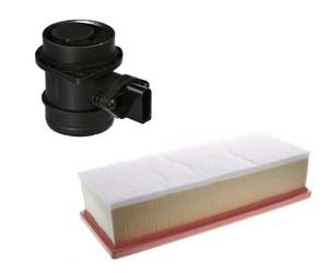 Kit luftmassemåler og luftfilter