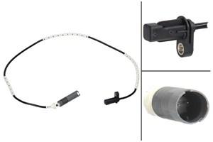 ABS-givare, Sensor, hjulvarvtal, Bakaxel, Bak, höger eller vänster, Höger bak, Vänster bak, Höger, Vänster