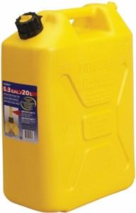Bränsledunk 20L / Gul / Diesel