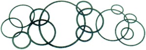 O-ring, Evinrude, Johnson, Mariner, MerCruiser, Mercury