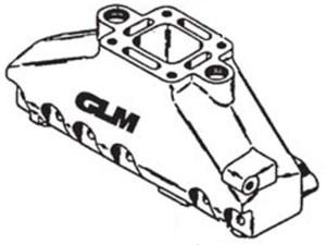 Avgaslimpa aluminium / V6