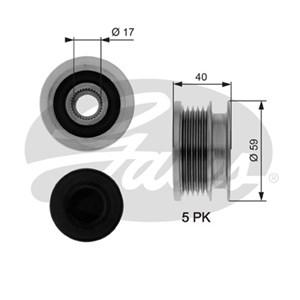 Reservdel:Opel Zafira Frihjulskoppling, generator