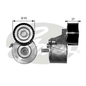 Reservdel:Ford Fusion Spännrulle, flerspårsrem