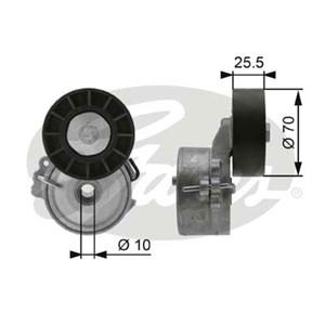 Reservdel:Citroen C8 Spännrulle, flerspårsrem