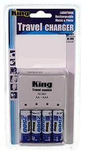 Batteriladdare, AA, Universal