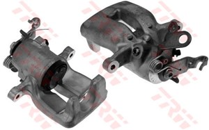 Brake Caliper, Rear, In front of axle, Right