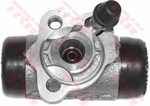 Hjulbremsecylinder, Bagaksel, Bagaksel højre, Bagaksel venstre, Højre, Venstre