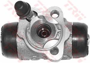 Hjulcylinder, Bakaxel, Bak, höger, Bak, vänster, Höger, Vänster