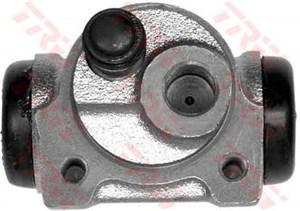 Hjulcylinder, Bak, Bakaxel, Bak, vänster, Höger, Vänster