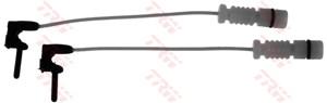 Varningssensor, bromsbeläggslitage, Bakaxel, Framaxel, Fram eller bak