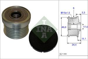 Reservdel:Bmw 325 Frihjulskoppling, generator