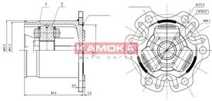 Reservdel:Ford Galaxy Drivknut, Framaxel