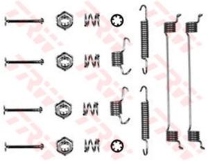 Reservdel:Citroen Zx Tillbehörssats, bromsbackar, Bak, Bakaxel, Framaxel