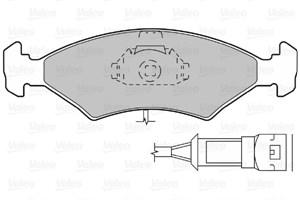 Reservdel:Ford Escort Bromsbeläggsats, Fram