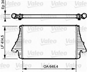 Reservdel:Saab 9-3 Intercooler