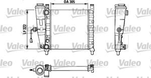 Reservdel:Fiat Uno Kylare, motorkylning