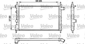 Reservdel:Opel Combo Kylare, motorkylning