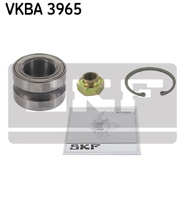 Wheel Bearing Kit, Front, Front axle, Rear axle