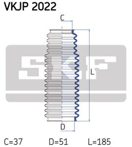 Paljekumisarja, ohjaus, Etuakseli, Etuakseli, oikea, Oikea tai vasen puoli