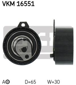 Strammehjul, tandrem, Midten til venstre