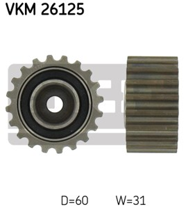 Deflection/Guide Pulley, timing belt, Lower left