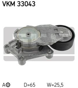 Reservdel:Citroen C3 Spännrulle, flerspårsrem, Vänster övre, Höger, Upptill, Vänster