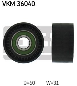 Medløberhjul, multi-V-rem, Midten til højre, Midten til venstre