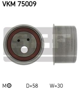 Reservdel:Volvo V40 Spännrulle, kamrem, Mitt till vänster, Upptill