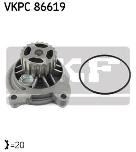 Reservdel:Volkswagen Lt 28-35 Vattenpump