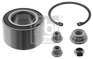 Wheel Bearing Kit, Front axle, Rear axle, Front, left or right, Rear, left or right