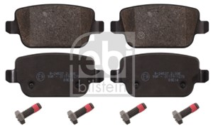 Reservdel:Ford Galaxy Bromsbeläggsats, Bak, Fram
