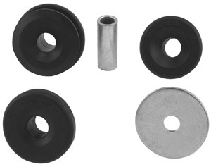 Repair Kit, suspension strut, Front, Rear, Rear axle