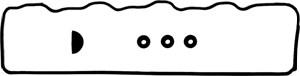 Tetningssett, sylindertopp hette