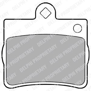 Reservdel:Mercedes Slk 230 Bromsbeläggsats, Bak