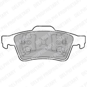 Brake Pad Set, disc brake, Front, Rear