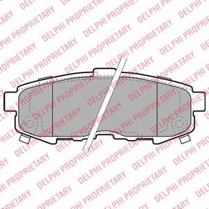 Reservdel:Mazda 6 Bromsbeläggsats, Bak