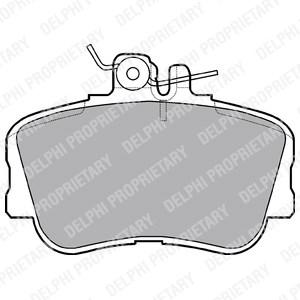 Reservdel:Mercedes Sprinter Bromsbeläggsats, Fram