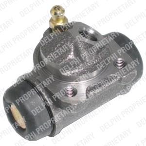 Hjulbremsecylinder, Bag, Bagaksel, Bagaksel venstre, Bagved til venstre, Venstre