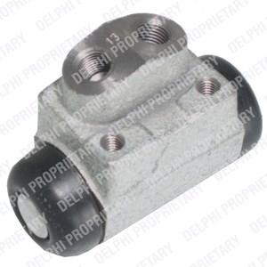 Hjul bremsesylinder, Bakaksel, Bakre venstre, Venstre bakaksel, Venstre
