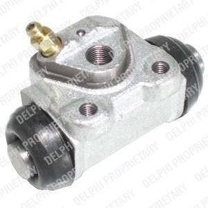 Hjulcylinder, Bakaxel, Bak, vänster, Vänster bak, Höger, Vänster