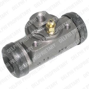 Wheel Brake Cylinder, Rear axle