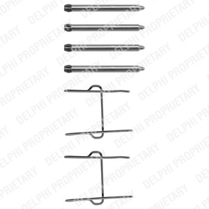 Reservdel:Citroen Ax 11 Monteringssats, Fram, Framaxel
