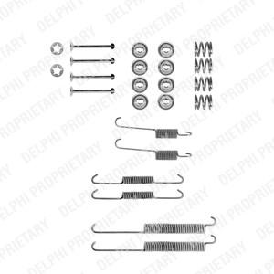 Accessory Kit, brake shoes, Rear, Rear axle