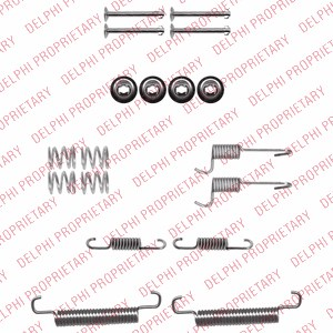 Accessory Kit, brake shoes, Rear axle