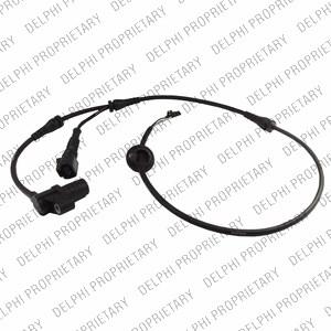 ABS Sensor, Foraksel, Foran