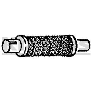Reservdel:Fiat Tipo Mjuk rörledning, avgassystem, Mitt