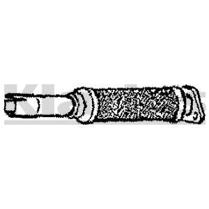 Flexrør, udstødningssystem, Midten